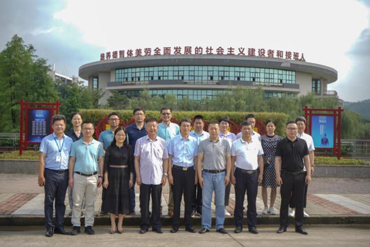 义乌工商职业技术学院党委书记李昌祖一行到我校调研交流